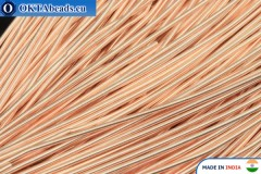 Smooth soft gimp wire gold 1mm, 5gr W0002
