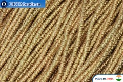Soft gimp wire gold 1mm, 5gr W0076