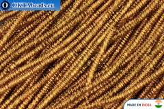 Soft gimp wire bronze 1mm, 5gr W0063
