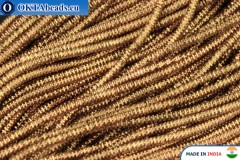 Soft gimp wire bronze 1mm, 5gr W0085