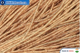 Soft gimp wire bronze 1mm, 5gr W0086