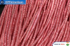 Soft gimp wire pink 1mm, 5gr W0059