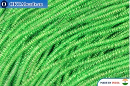 Soft gimp wire green 1mm, 5gr W0083