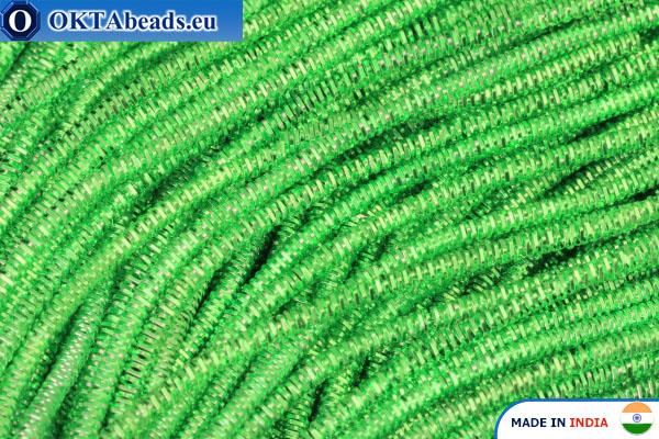 Francouzské drát měkký zelený 1mm, 5gr W0083