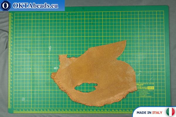 Pravá kůže rejnoka ~ 1mm, 33,9g XL0144