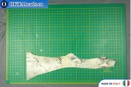 """Телячья кожа змеиное покрытие, """"питон"""" ~ 0,8мм, 7,1гр XL0301"""