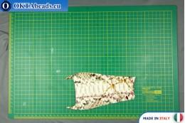Телячья кожа змеиное покрытие, жесткая ~ 0,8мм, 7,7гр XL0230
