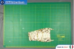 Soft Calf Leather snake finished, hard ~ 0,8mm, 8,7g XL0245