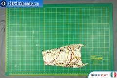 Телячья кожа змеиное покрытие, жесткая ~ 0,8мм, 10,7гр XL0248