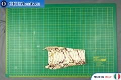 Telecí kůže hadí povrch, pevná ~ 0,8mm, 7g