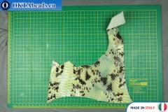 Телячья кожа змеиное покрытие ~ 0,8мм, 23,4гр XL0276