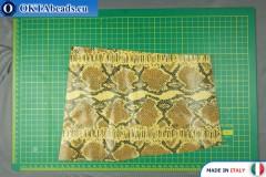 Телячья кожа змеиное покрытие ~ 0,8мм, 27гр XL0284