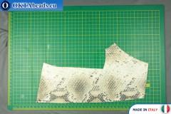 Телячья кожа змеиное покрытие ~ 0,8мм, 31гр XL0260