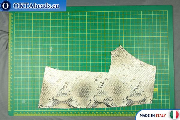 Telecí kůže hadí povrch ~ 0,8mm, 31g XL0260