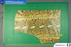 Телячья кожа змеиное покрытие ~ 0,8мм, 33гр XL0282