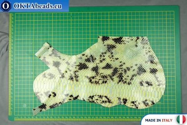 Telecí kůže hadí povrch ~ 0,8mm, 36,5g XL0277