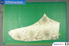 Телячья кожа змеиное покрытие ~ 0,8мм, 36,8гр XL0261