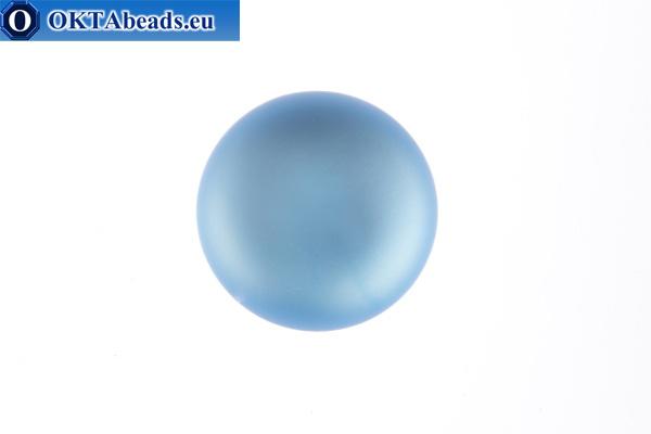 Lunasoft cabochon Light Sapphire 12mm