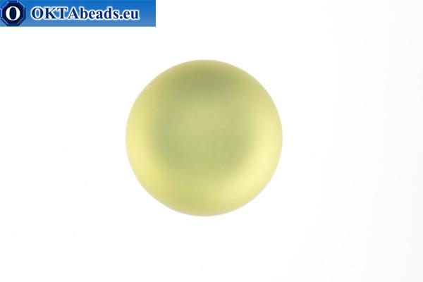 Lunasoft cabochon Jonquil 18mm