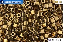 MIYUKI Square Beads Metallic Bronze (457) 4мм 4CBM457