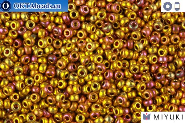 MIYUKI Beads 24Kt Gold Iris 11/0 (199)