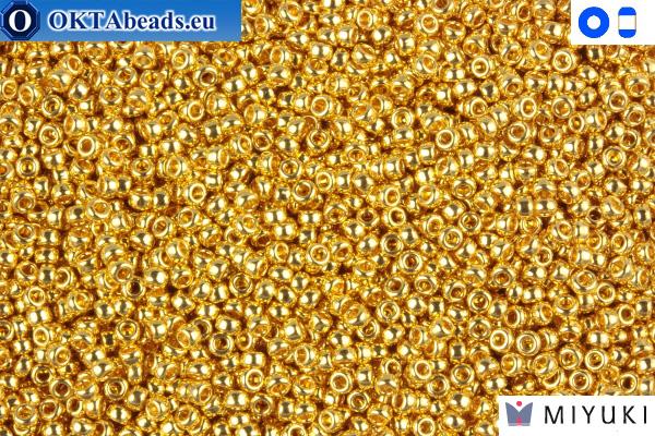 MIYUKI Beads 24Kt Gold Plated 15/0 (191)