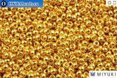 MIYUKI Beads 24Kt Gold Plated (191) 11/0