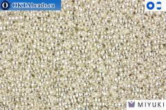 MIYUKI Beads Bright Sterling Plated 15/0 (961)