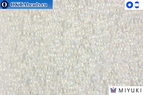 MIYUKI Beads Crystal AB 15/0 (250)