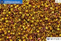 MIYUKI Beads Delica 24Kt Gold Iris (DB501) 11/0