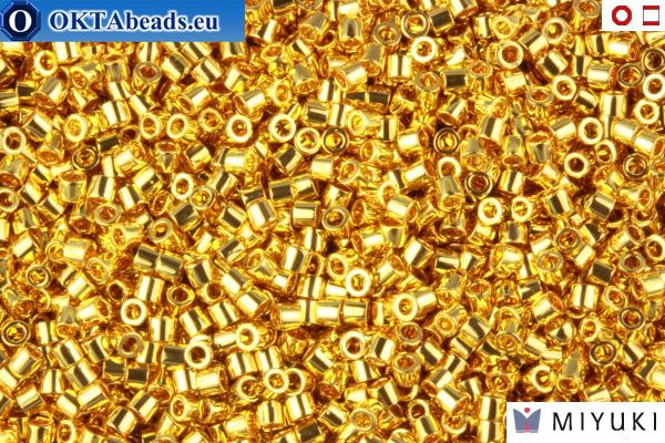 MIYUKI Beads Delica 24Kt Gold Plated 15/0 (DBS31)