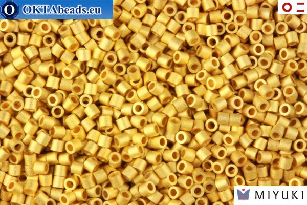 MIYUKI Beads Delica 24Kt Matte Metallic Bright Gold 15/0 (DBS331)