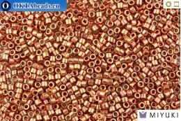 MIYUKI Beads Delica Bright Copper Plated 11/0 (DB40) DB040