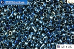 MIYUKI Beads Delica Dark Blue AB 11/0 (DB514)