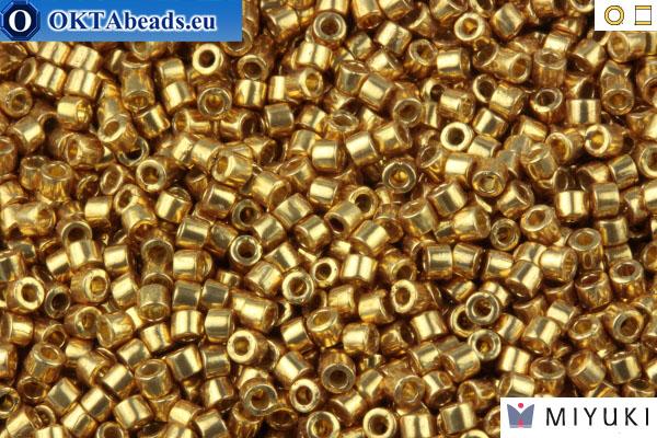MIYUKI Beads Delica Duracoat Galvanized Champagne (DB1834) 11/0 DB1834