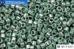 MIYUKI Beads Delica Duracoat Galvanized Dark Seafoam (DB1846) 11/0, 5gr