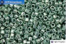 MIYUKI Beads Delica Duracoat Galvanized Dark Seafoam (DB1846) 11/0, 5гр DB1846