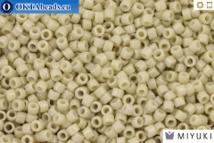 MIYUKI Beads Delica Duracoat Opaque Off White (DB2362) 11/0, 5g