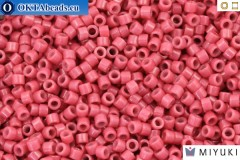 MIYUKI Beads Delica Duracoat Opaque Raspberry (DB2353) 11/0, 5g