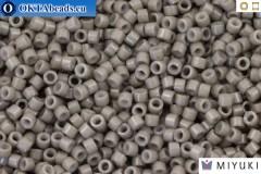 MIYUKI Beads Delica Duracoat Opaque Slate Grey (DB2367) 11/0, 5гр