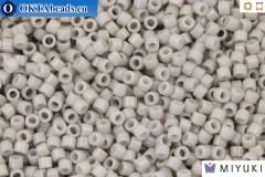 MIYUKI Beads Delica Duracoat Opaque Soft Grey (DB2366) 11/0, 5гр