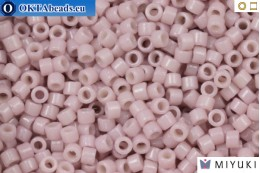 MIYUKI Beads Delica Duracoat Opaque Soft Pink (DB2361) 11/0, 5g DB2361