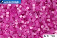 MIYUKI Beads Delica Dyed Fuchsia Silk Satin (DB1808) 11/0, 5гр