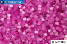 MIYUKI Beads Delica Dyed Fuchsia Silk Satin (DB1808) 11/0, 5гр DB1808