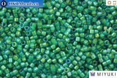 MIYUKI Beads Delica Fancy Lined Aqua Green (DB2381) 11/0, DB2381