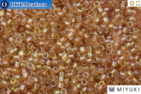 MIYUKI Beads Delica Fancy Lined Blush (DB2373) 11/0 DB2373