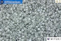 MIYUKI Beads Delica Fancy Lined Pearl Grey (DB2392) 11/0, DB2392