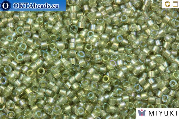 MIYUKI Beads Delica Fancy Lined Silver Streak (DB2378) 11/0 DB2378
