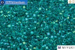 MIYUKI Beads Delica Fancy Lined Teal Green (DB2380) 11/0