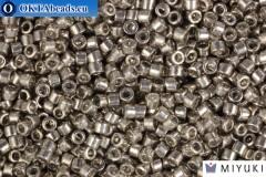 MIYUKI Beads Delica Galv Pewter (DB436) 11/0, 5гр
